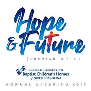 Baptist Children's Home Offering