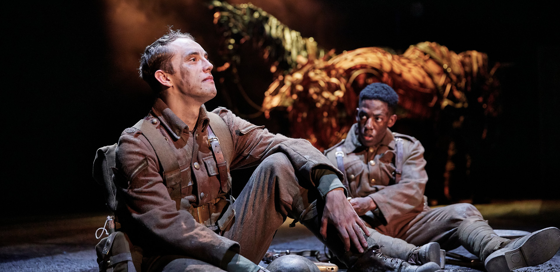 Scott Miller, Khalid Daley. War Horse 20
