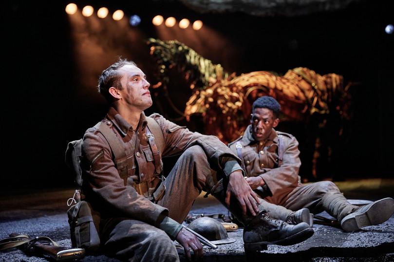 Scott Miller, Khalid Daley. War Horse 20