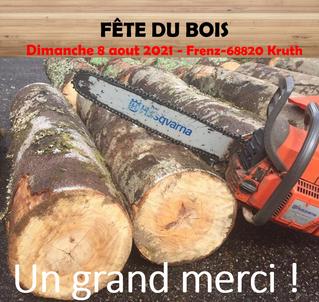 Fête du bois 2021 - un grand merci !