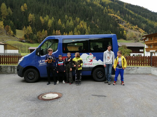 Compétition et ski libre : Kaunertal 2020