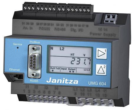 Janitza UMG 604, Compteur triphasé  Ethernet/RS485