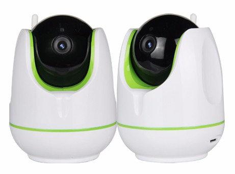 Wifi mini dôme caméra avec contacteur de porte + télécommande 1,3MP 1280x960P