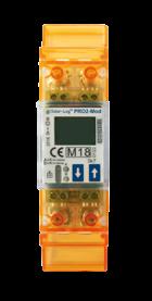 Solar-Log™ PRO2, Compteur monophasé  MID (calibré) RS485