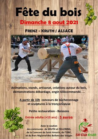 Fête du bois - Le 08 Août 2021 au Frenz...