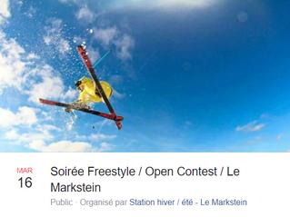 Soirée Freestyle / Open Contest - Au Markstein