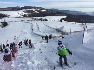 Initiation au saut à ski au Markstein