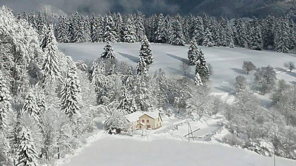 Refuge en hiver