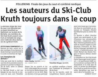 Saut à ski: Nos sauteurs sont dans le coup!