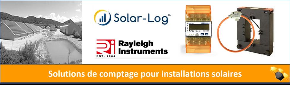 Solar-Log compteurs sondes Rogowski