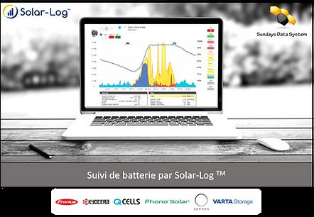 Solar-Log suivi batterie