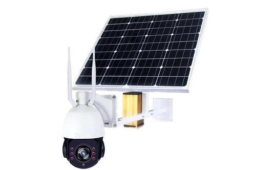Wifi 4G Solaire Dôme 355°/90°, IR 100m, zoom 18x, 2MP, résolution 1920x1080P
