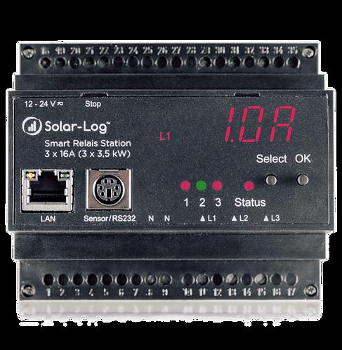 Solar-Log - Smart relais station (3 x 3,5Kw)