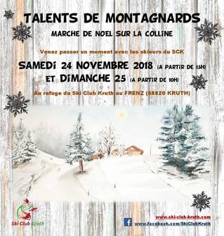 Talents de Montagnards - Rendez-vous les 24 et 25 Novembre au Frenz!