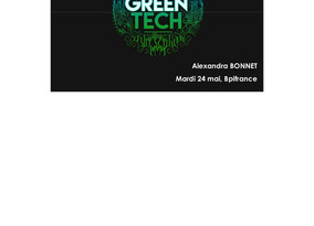 J-6 pour candidater à l'initiative GreenTech !