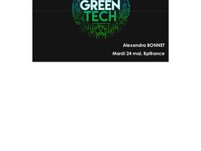 J-6 pour candidater à l'initiative GreenTech !