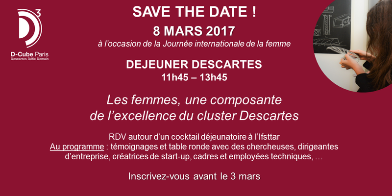 invitation cité Descartes 8 mars