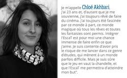 Chloé Akhbari