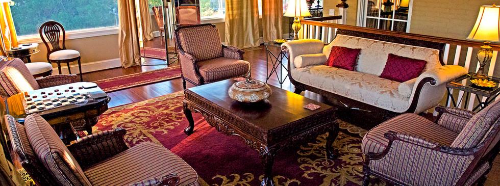 Living Room - Overlook Farm