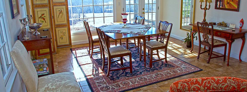 Bridal Cottage-dining Room - Overlook Farm