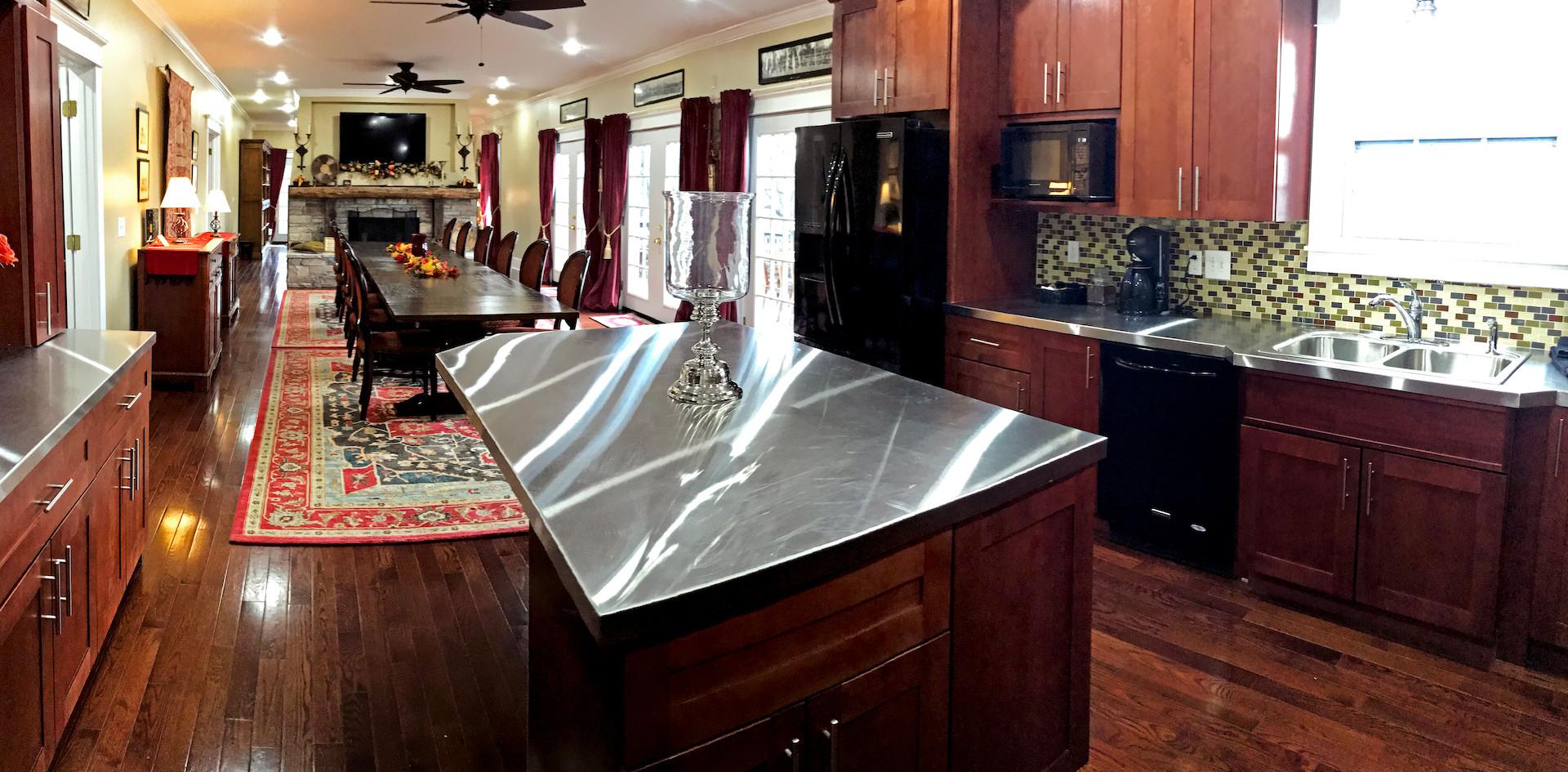 Kitchen - Overlook Farm