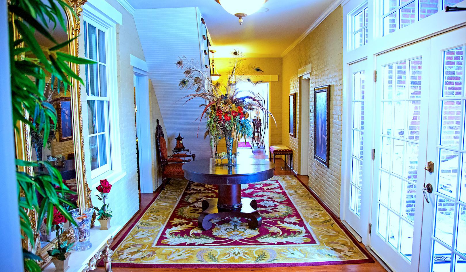 Cedarcrest Entrance Hallway - Overlook Farm