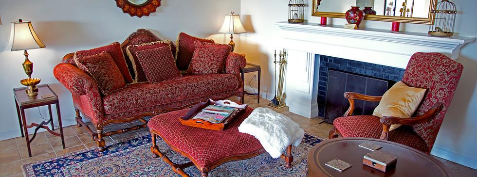 Bridal Cottage-living Room - Overlook Farm