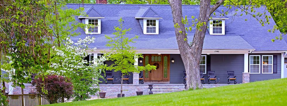Lodge Front - Overlook Farm