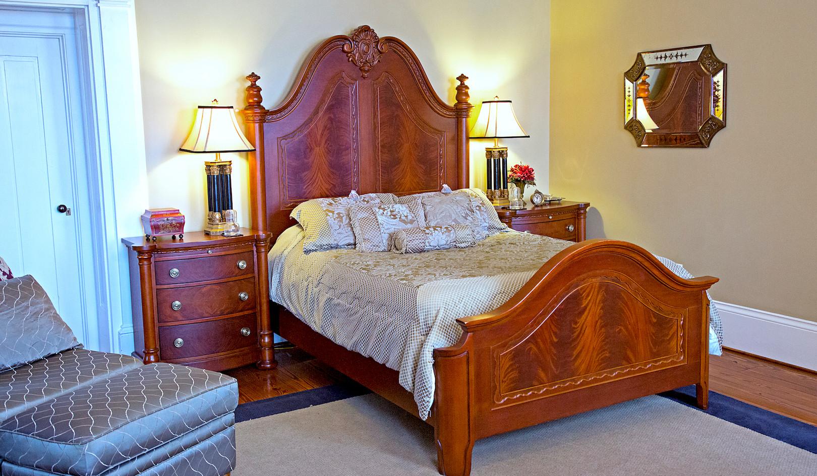 Cedarcrest 1SE Bedroom  - Overlook Farm