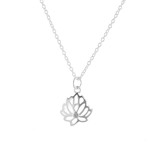 Lotus-Strength and Beauty Pendant