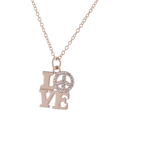 Love & Peace Pendant