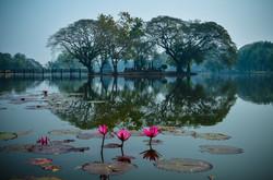Relaxing panorama Thailand