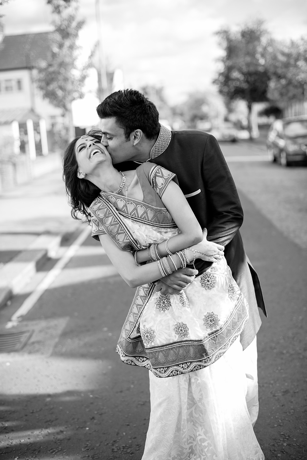 outdoor photo shoot engagement indian east london