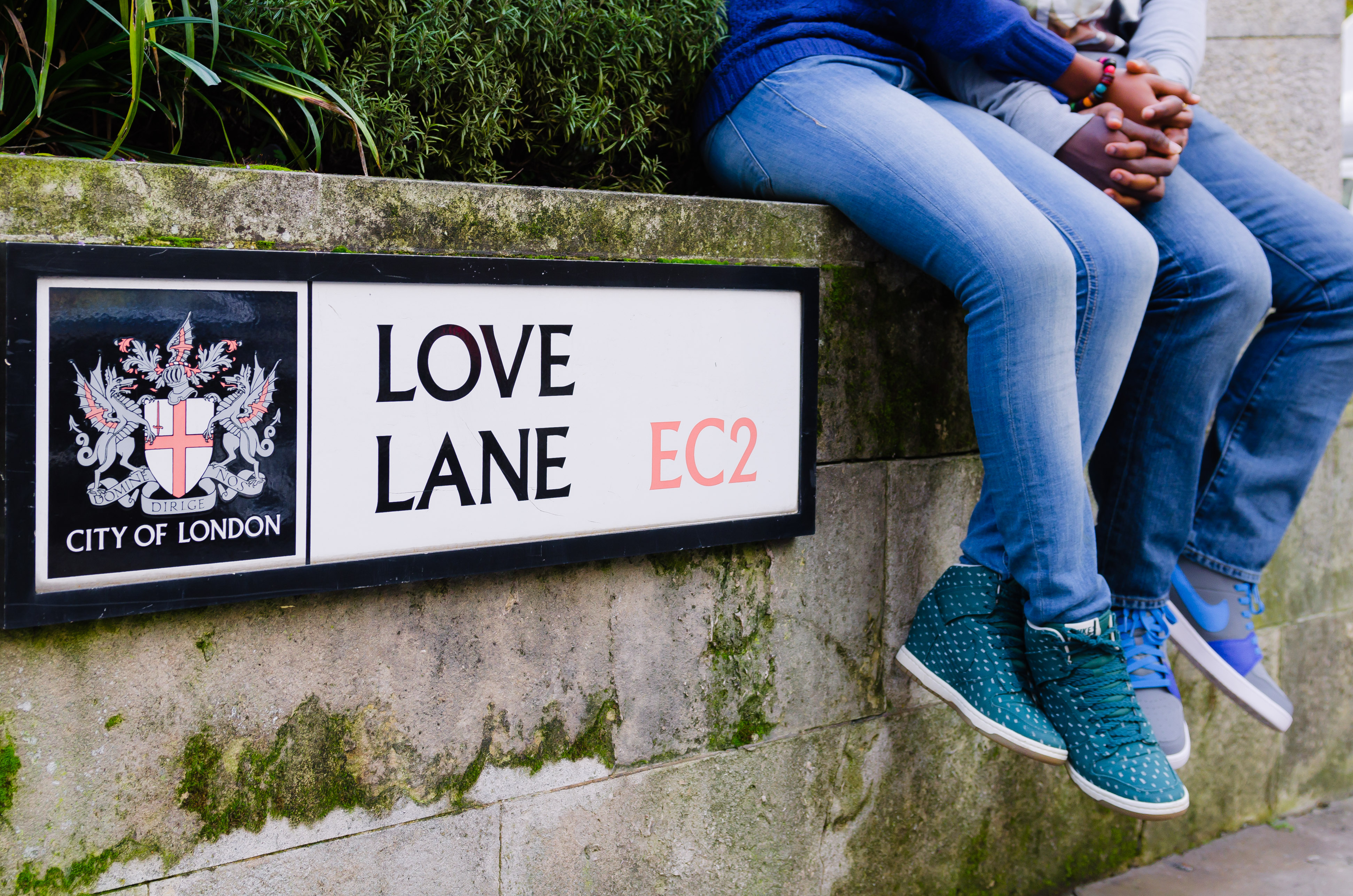 love lane london engagement shoot