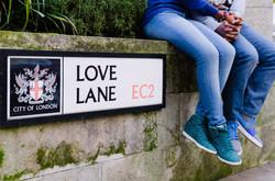 love lane london engagement shoot