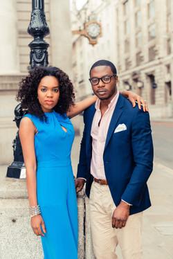 stylish couple photography london