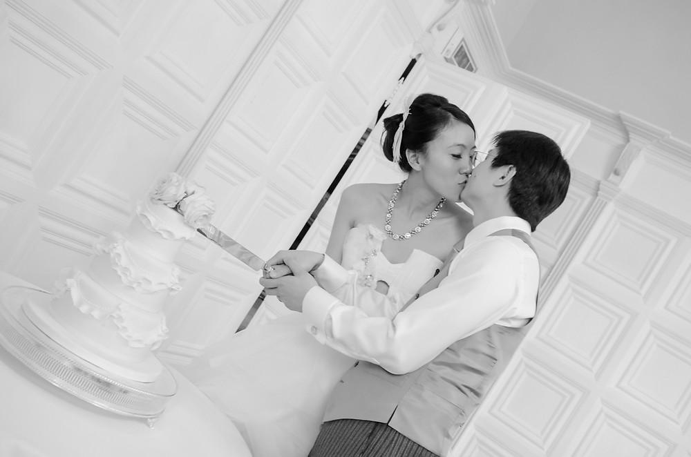 creative wedding photographer in London