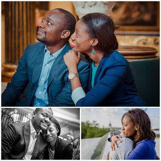 An indoor pre-wedding photo session in secret London interiors
