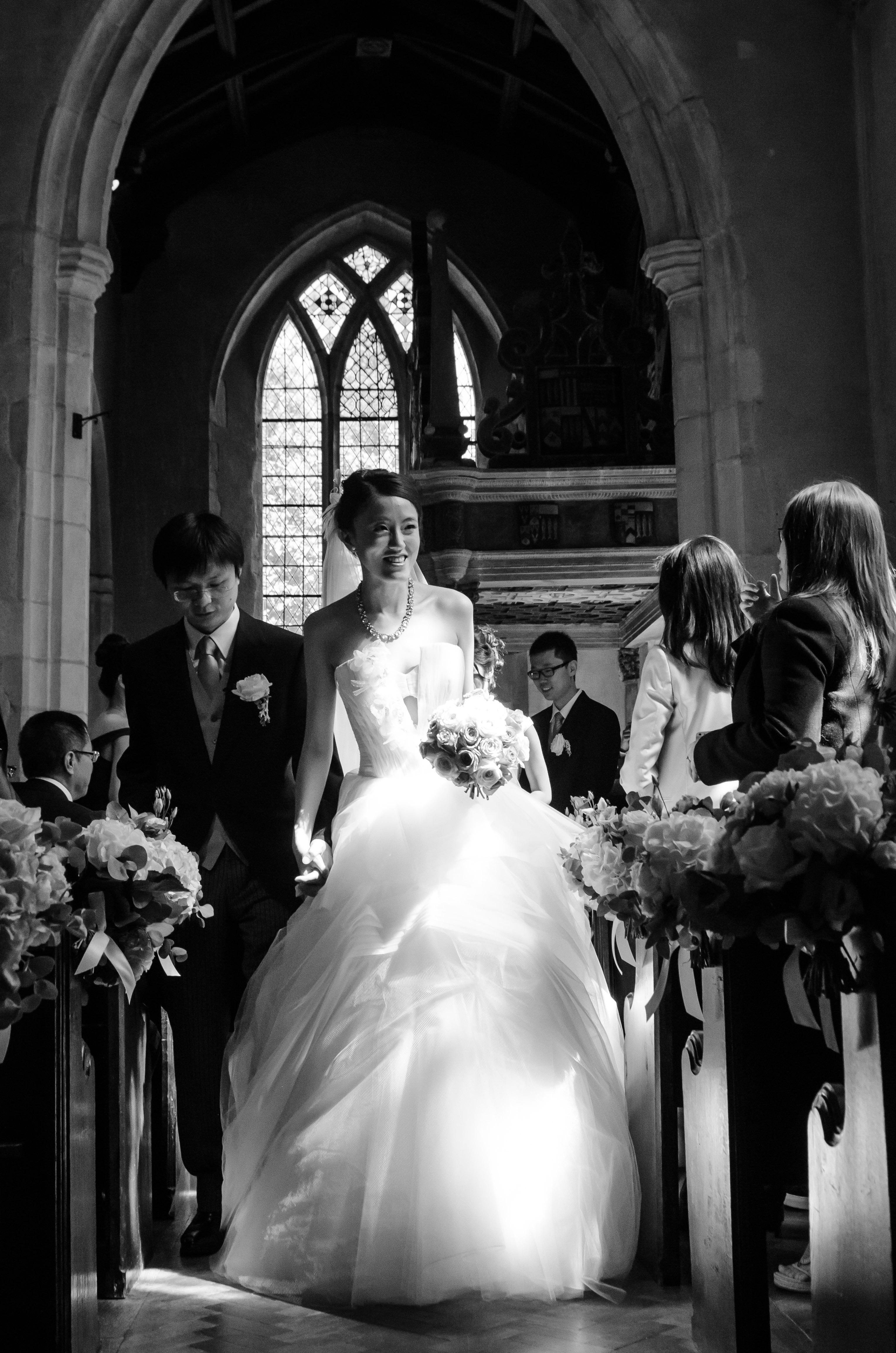 Stylish wedding reportage London
