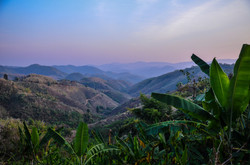 Sunset landscape Thailand