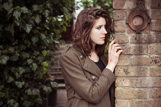French photoshoot in London Camden Town
