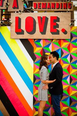 love photshoot in london south bank