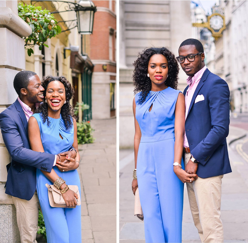 stylish pre-wedding engagement photo