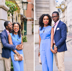 african couple lifestyle shoot