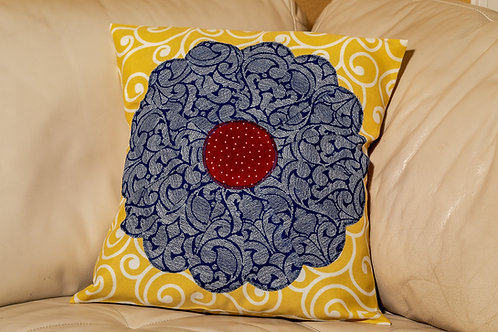 Blue Dresden 26x26 envelope pillow cover