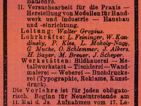 Bauhaus Dessau: Publicidad