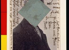 Kurt Schwitters: postal a Hannah Höch, 8.12.23
