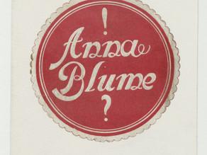 Kurt Schwitters: A Anna Blume