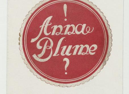 A Anna Blume
