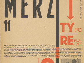 Kurt Schwitters: Tesis sobre tipografía